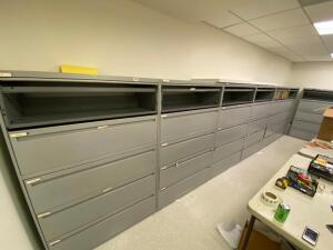 6 File Cabinets