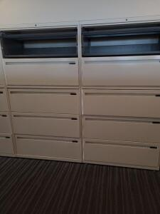6 Filing Cabinets
