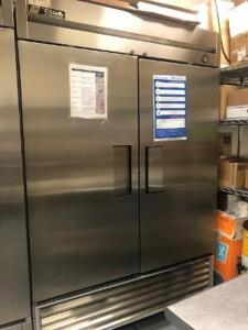 Two Section Reach In Refrigerator