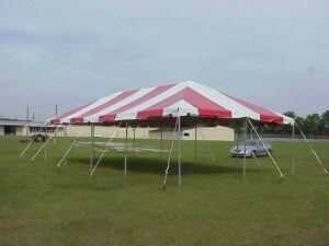 20x40 Frame Tent Top