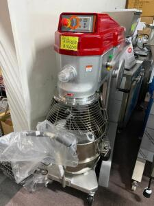 NEW Axis Commercial Pizza Dough Planetary Mixer, 60 quart capacity