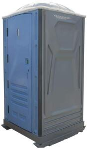 Brand New Portable flushing restroom with hand wash sink