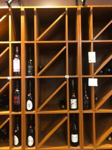 Solid Wood 12 - Case Wine Wall Unit