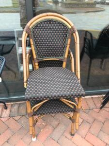 4 Patio Dining Chairs