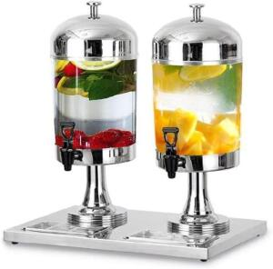 New in box double juice dispenser