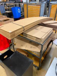 Folding Boxes and Table