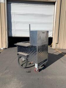 Sabrett Style Hot Dog Cart