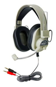NEW in Box - 4 HamiltonBuhl Deluxe Multimedia Headset with Microphone