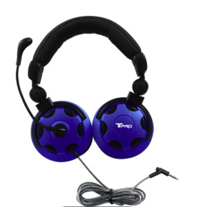 NEW in Box - 3 HamiltonBuhl TRRS School Testing Headset with Noise-Canceling Microphone