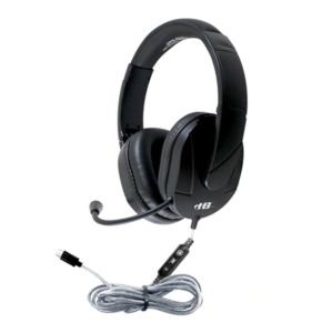 NEW in Box - 3 HamiltonBuhl Deluxe USB Multimedia Stereo Headset - Over-Ear with Steel Reinforced Gooseneck Mic