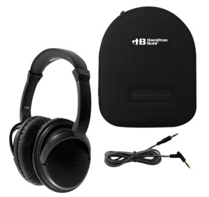 NEW in Box - HamiltonBuhl Deluxe Active Noise Canceling Headphones with case