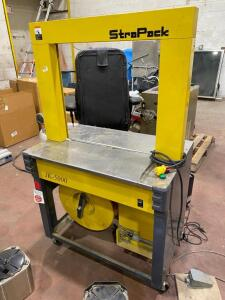 Stra-Pack Auto Strapping Machine